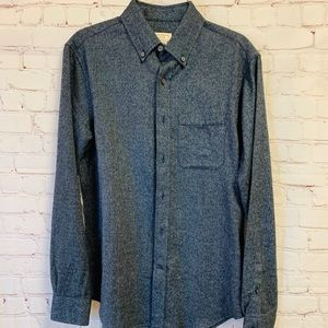 NWT Club Monaco Button Front Collared Casual Shirt